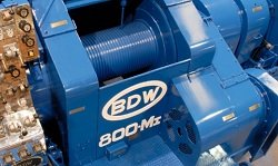Brake blocks for B.D.W. Co drawworks
